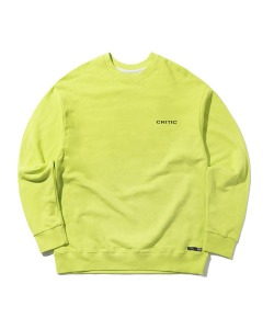 DELIVERY CHICKEN KILLER SWEATSHIRT(NEON GREEN)_CTONACR01UNG