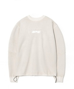[8/29 예약 배송] WASHED STRING SWEATSHIRT(CREAM)_CSONACR02UY5