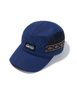 ETHNIC MESH CAMP CAP(DEEP BLUE)_CTTZPHW03UB6