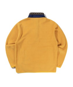 ETHNIC FLEECE SWEATSHIRT(YELLOW)_CTTZPCR03UY0