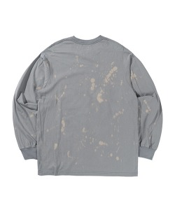 LOGO DOT DYEING LONG SLEEVE(GRAY)_CTTZPRL02UC0