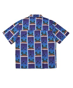 CRT SUMMER BEACH GRAPHIC SHIRT(BLUE)_CRTZUSS03UB2